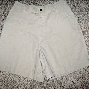 Light Tan 3 Pocket Cotton Blend Walking Shorts 10